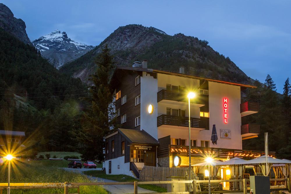 Hotelul din Randa la care am stat
