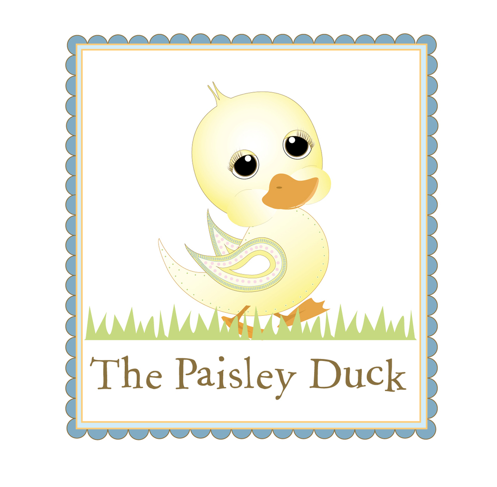 The Paisley Duck Childrens Clothing Logo