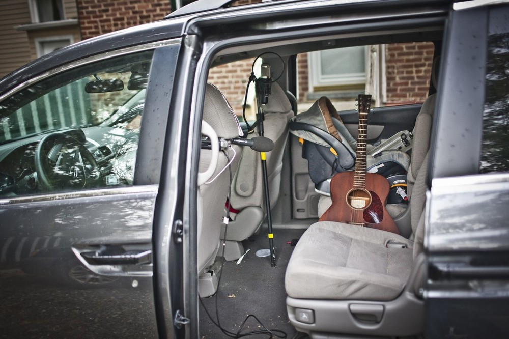 mini van recording studio