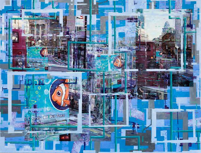 Paul Ettedgui East London Blue Nemo