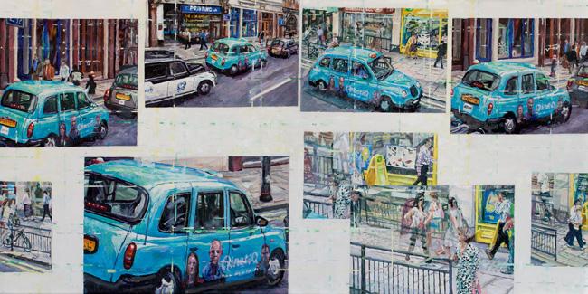 Paul Ettedgui Blue Taxi London