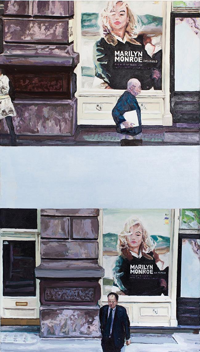 Paul Ettedgui Marilyn Monroe London