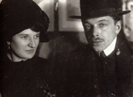 Ernst Ludwig Kirchner (1880–1938) mit Doris Grosse (Dodo), um 1910