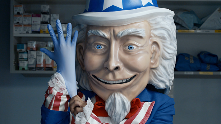 Creepy Uncle Sam