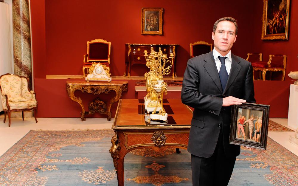 Cyril Koller, Besitzer der Galerie Koller in Zürich