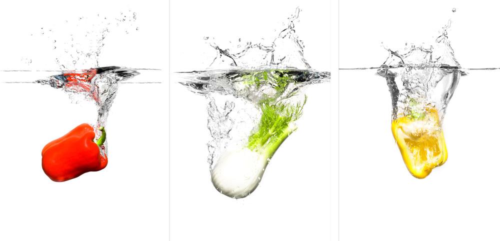 Gemüse im Wassertank, W. Kündig & Cie AG