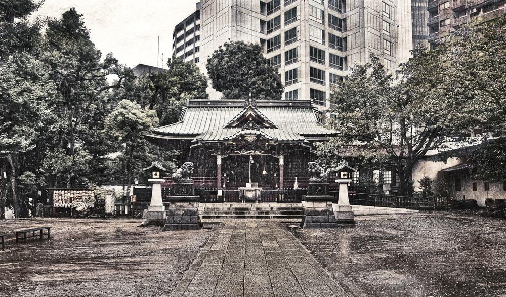 Hachiman-gu Shrine, Tokyo, Japan