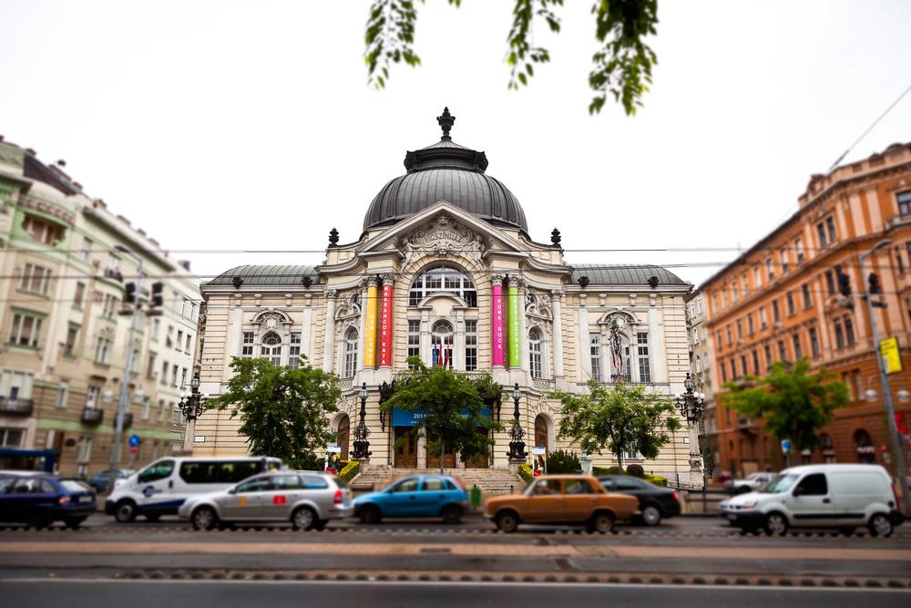 Vígszínház (Comedy Theatre), Budapest, Hungary