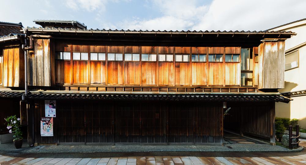 The Higashi Chaya-Gai District in Kanazawa