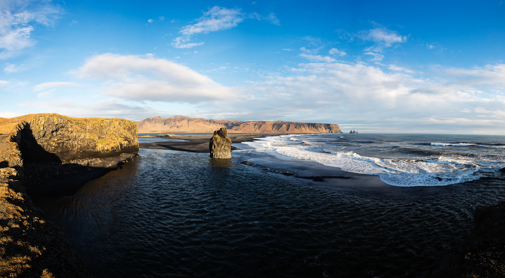 Reynishverdi Beach in Iceland