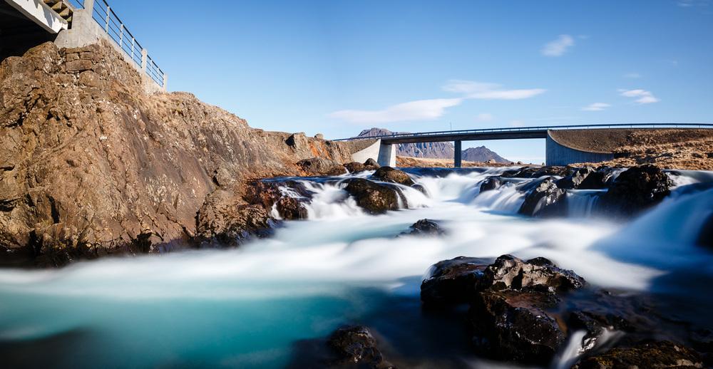 Hítará River in Iceland
