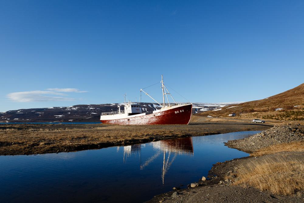 Gardar BA 64 Shipwreck