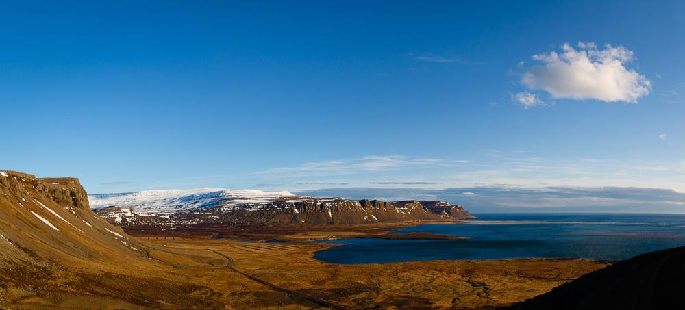 Raudasandur in the Westfjords, Iceland