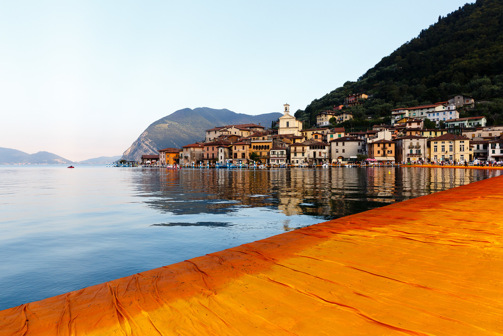 The Floating Piers - Peschiera Maraglio