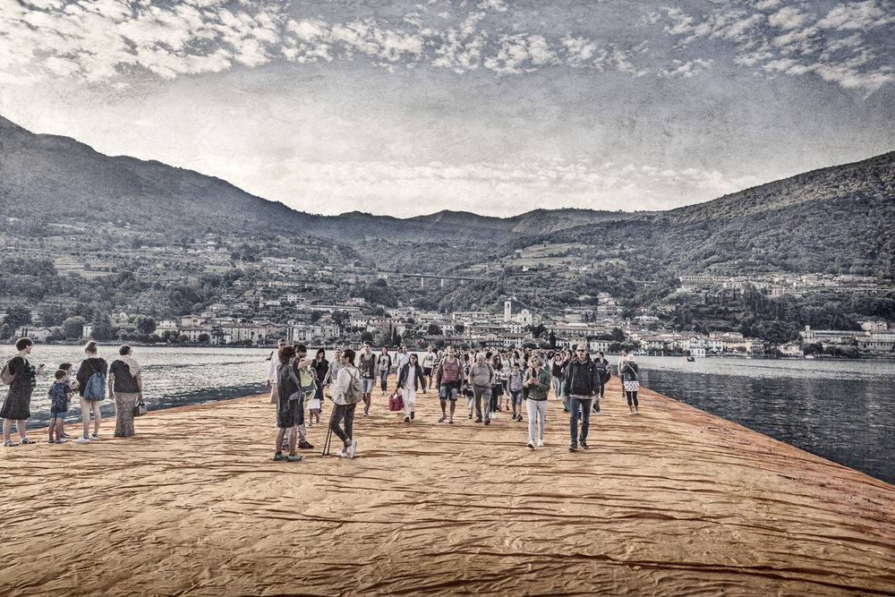 The Floating Piers - Sulzano to Peschiera Maraglio