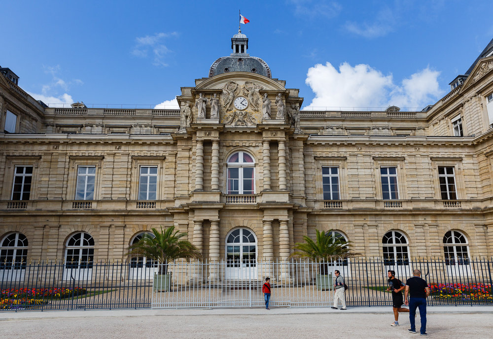 Palais du Luxembourg in Paris