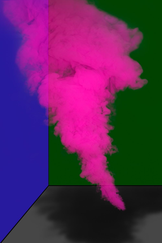 Magenta Smoke