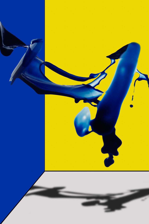 Blue Paint 01