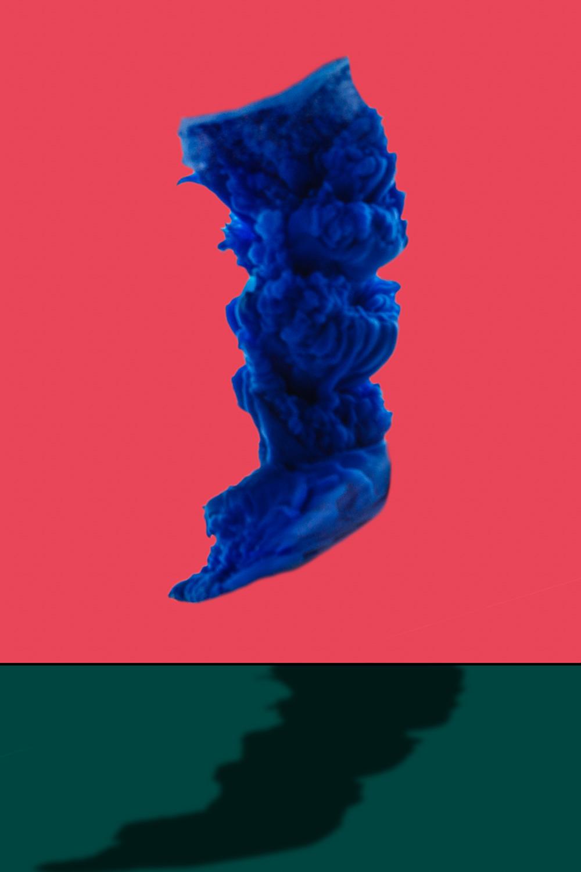 Blue Paint 03
