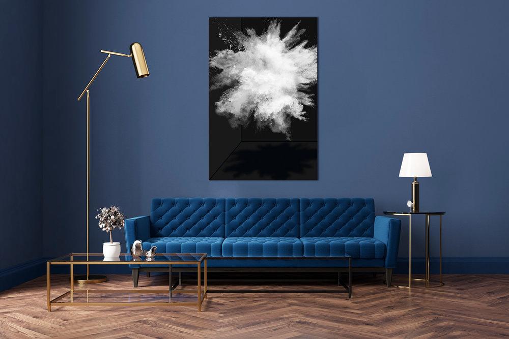 White Powder in Living Room