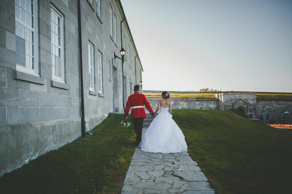 Elyse & Dominic - À la Citadelle de Québec