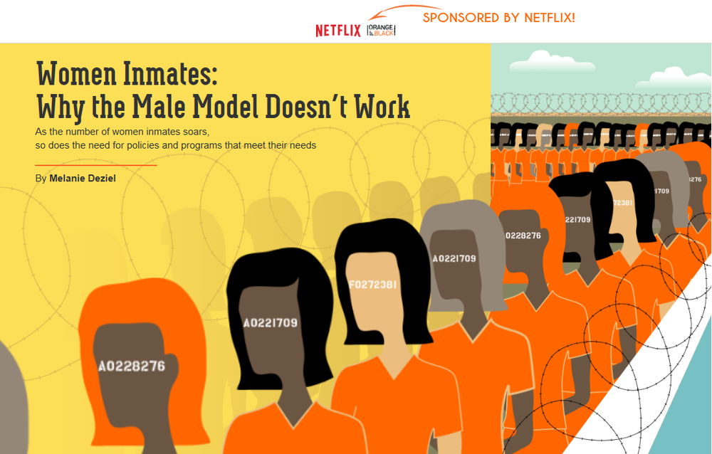 New York Times: Netflix: Orange is the New Black Native Advertisement