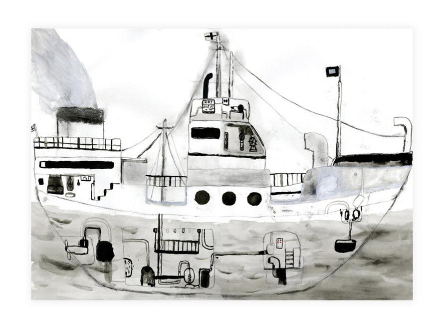 Ship - Clara Selina Bach
