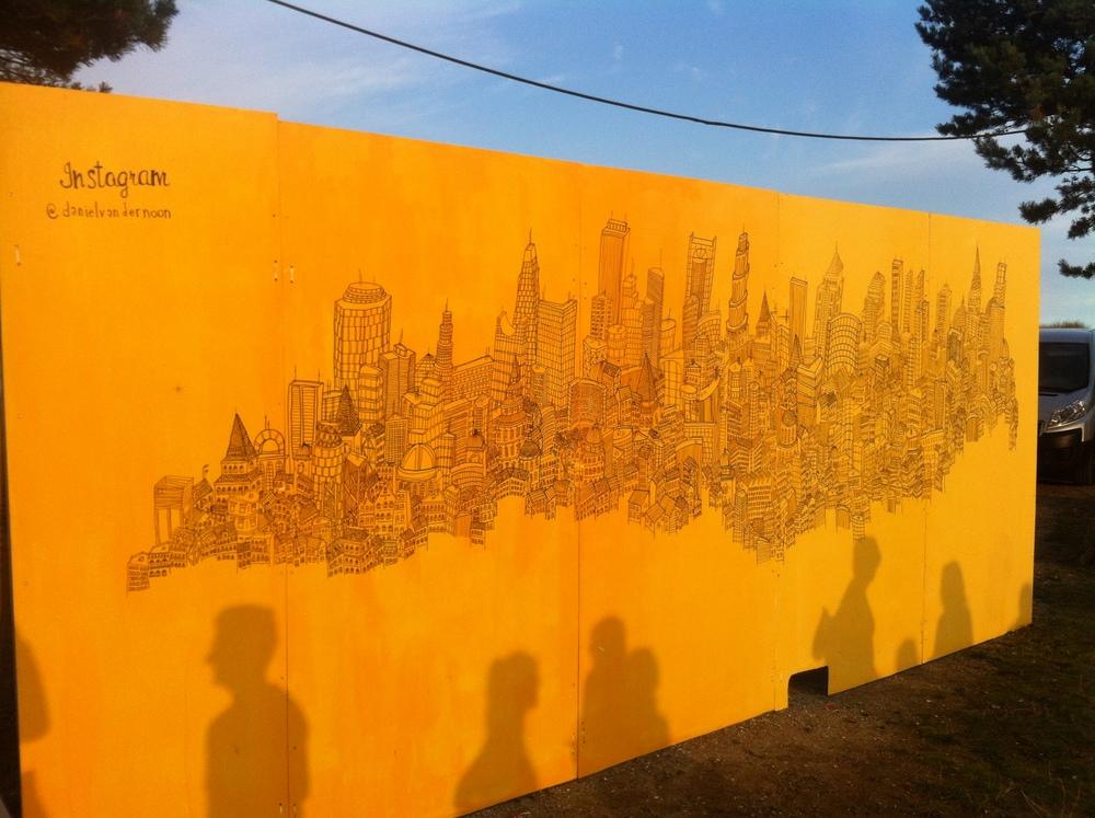 Daniel Van Der Noon's city-scape