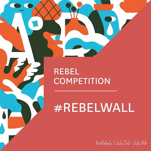 REBEL COMPETITION! We'll be giving away 5 @hedof posters. All you have to do is upload a picture on Instagram of your ArtRebels art in your home. Just remember to hashtag #rebelwall on the photo - Competition runs July 2nd - July 9th and we'll announce 5 winners July 10! #ArtRebels