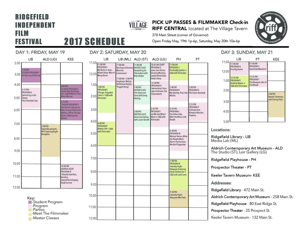 download schedule