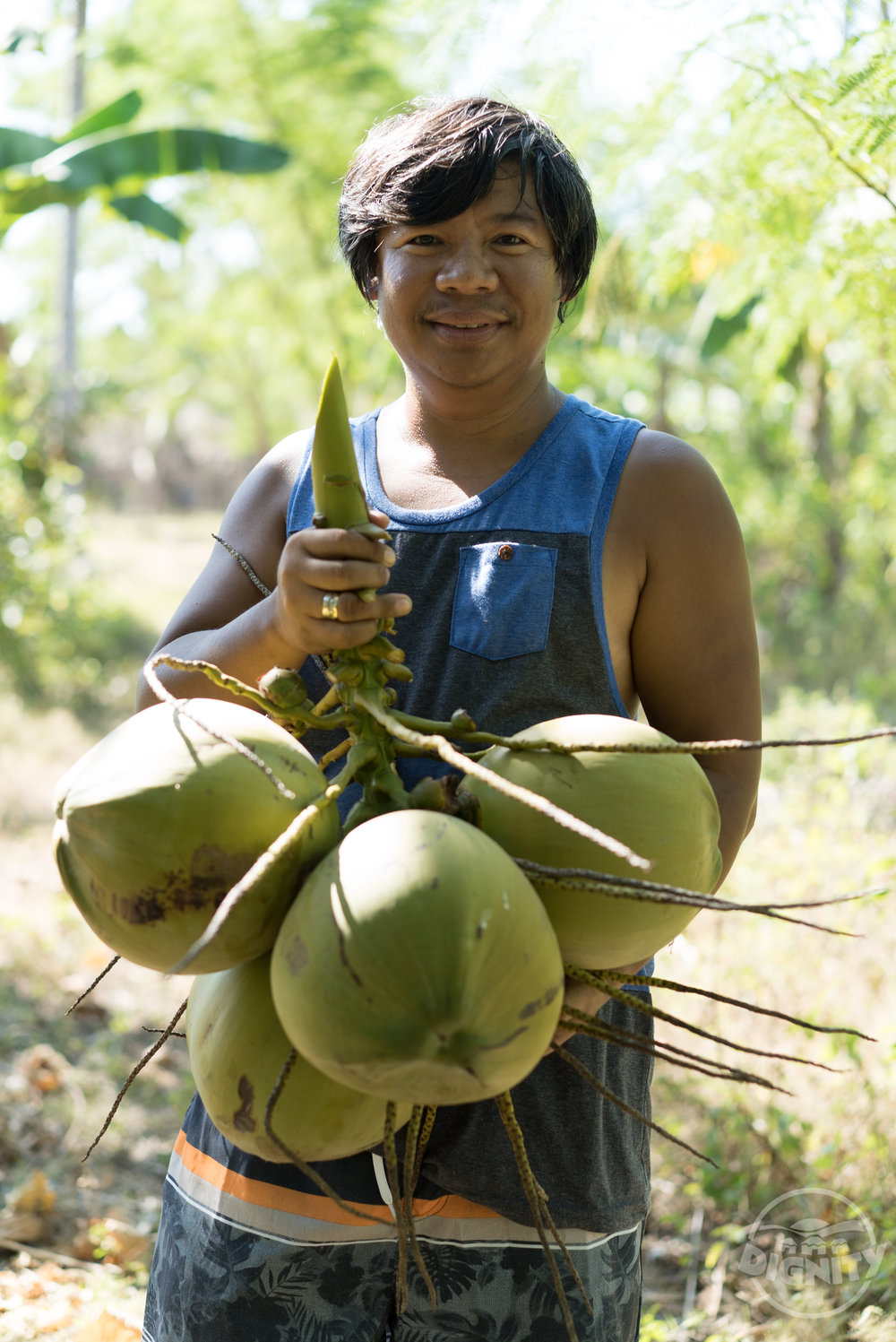 Break cycles of poverty - Finally, Organic certifying the coconuts means the farmers benefit. Their coconuts can be sold for a higher price when they are Organic. Farmers are often stuck in what is called