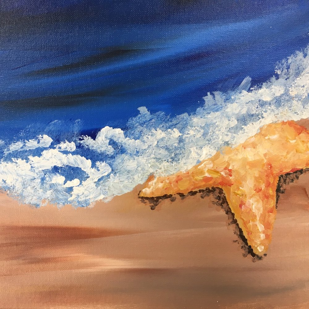 RI Beach Painting