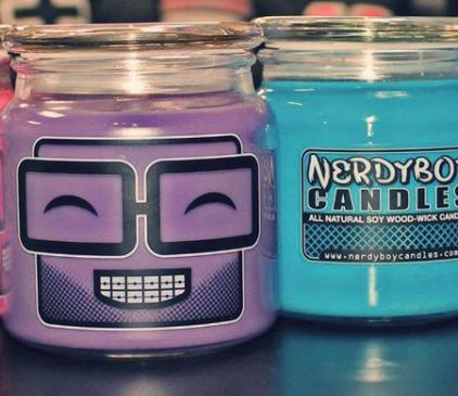 NerdyBoy Candles