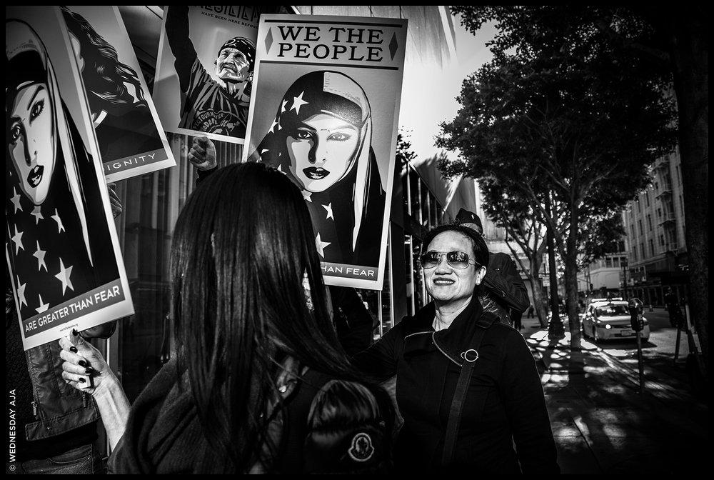 Women's March Los Angeles   We The People  Jan 21, 2017