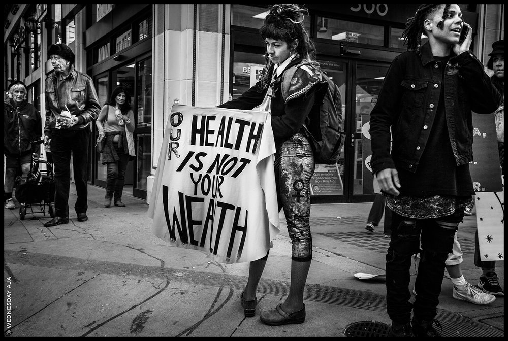 Women's March Los Angeles   Our Health  Jan 21, 2017