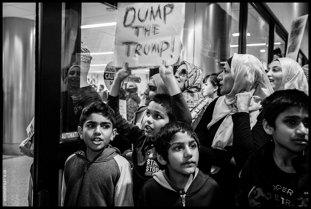 Protest Against Muslim Ban  // LAX Jan 29, 2017