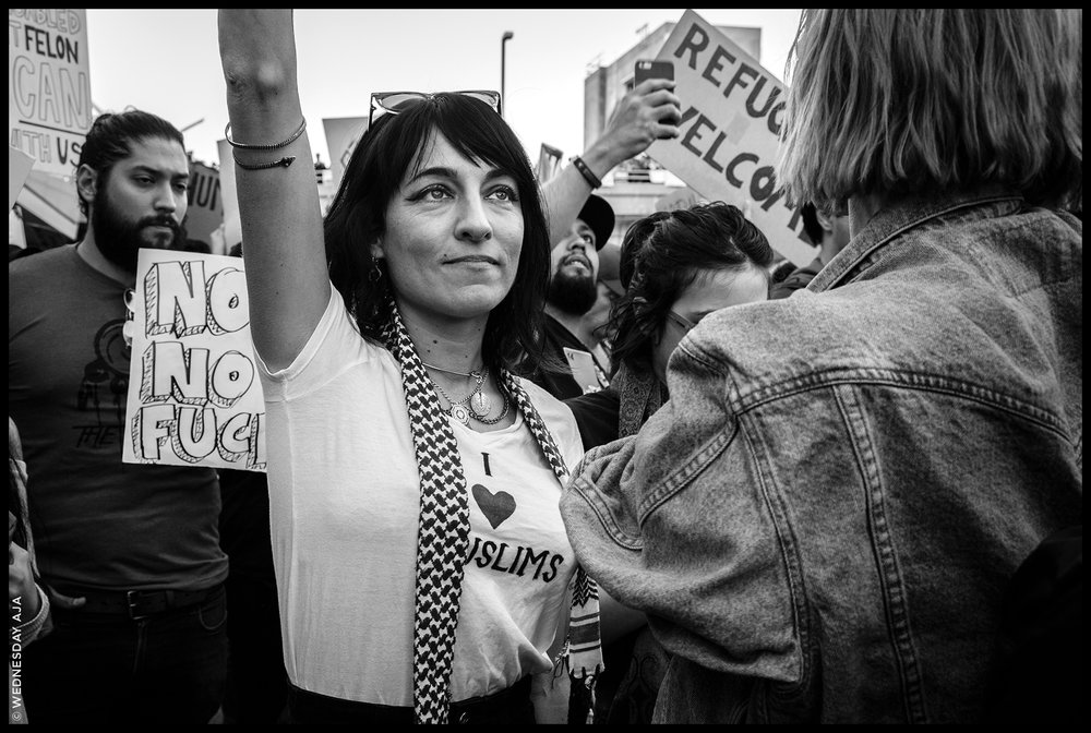 Protest Against Muslim Ban // LAX