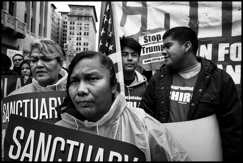 Free The People  Immigration March // Los Angeles, CA Feb 18, 2017