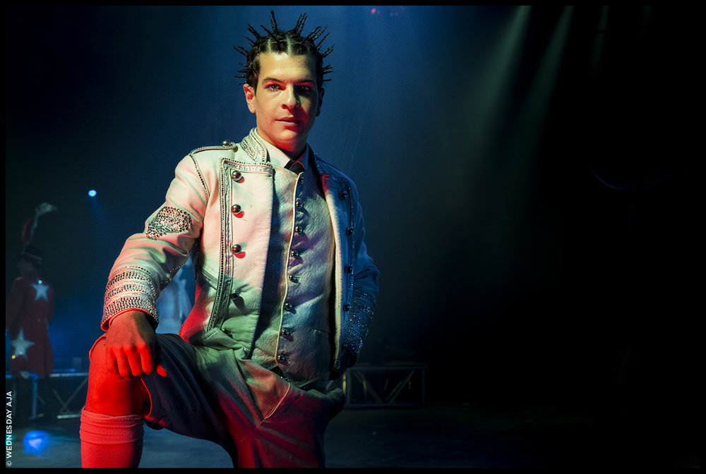 STEVIE CAVEAGNA   Italian Circus Artist:Comedian, Diabolist, Musician