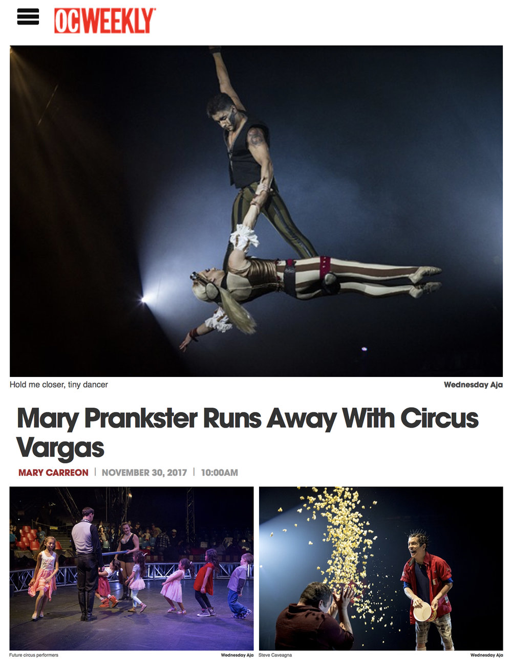 OC WEEKLY // MARY PRANKSTER