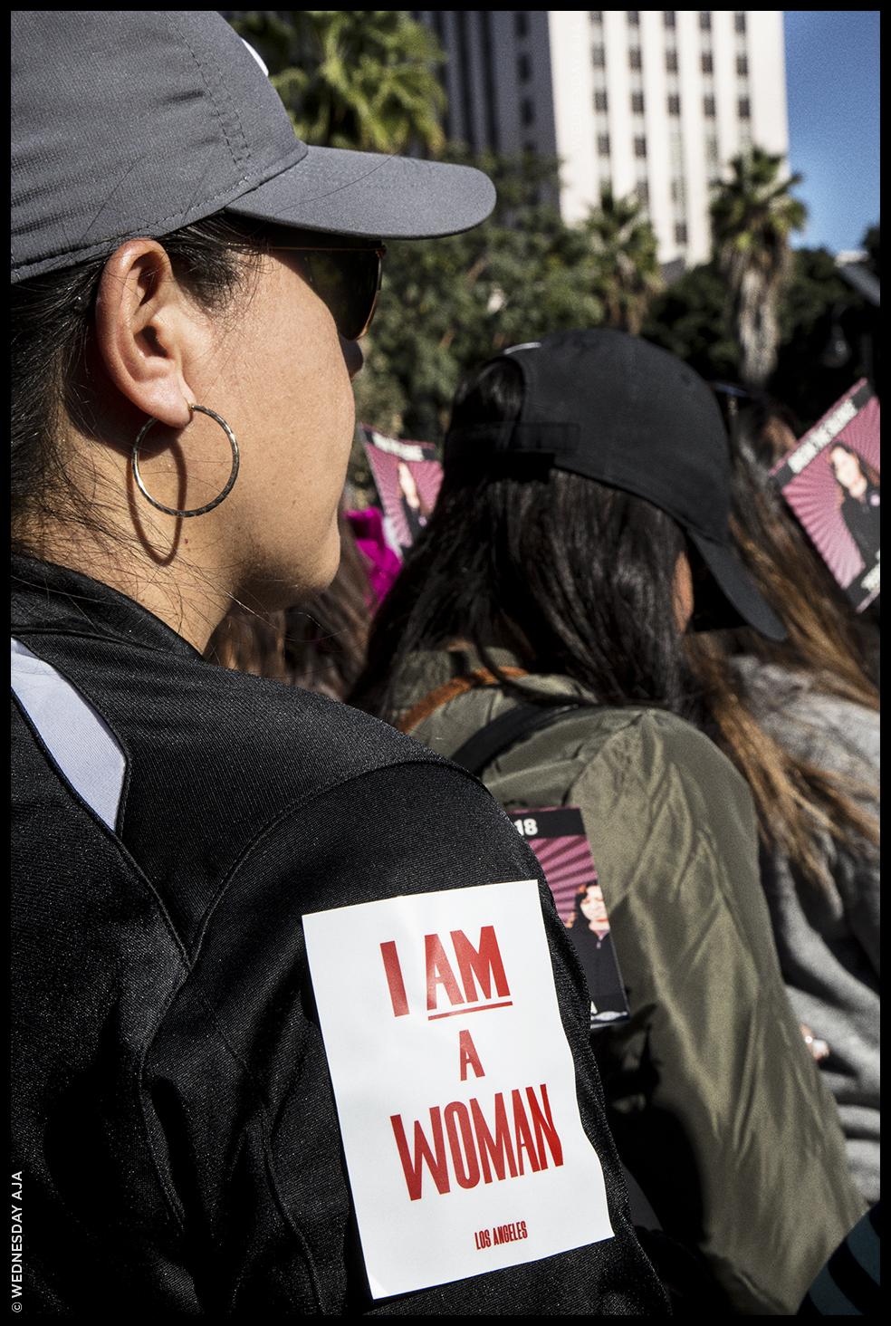 Women's March Los Angeles  Jan 20, 2018