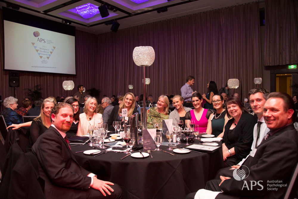 Workplace Excellence Awards 2015 gala dinner
