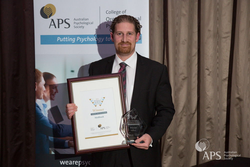 Workplace Excellence Awards 2015 Award for Learning and Development: Jason Gindidis of Medibank