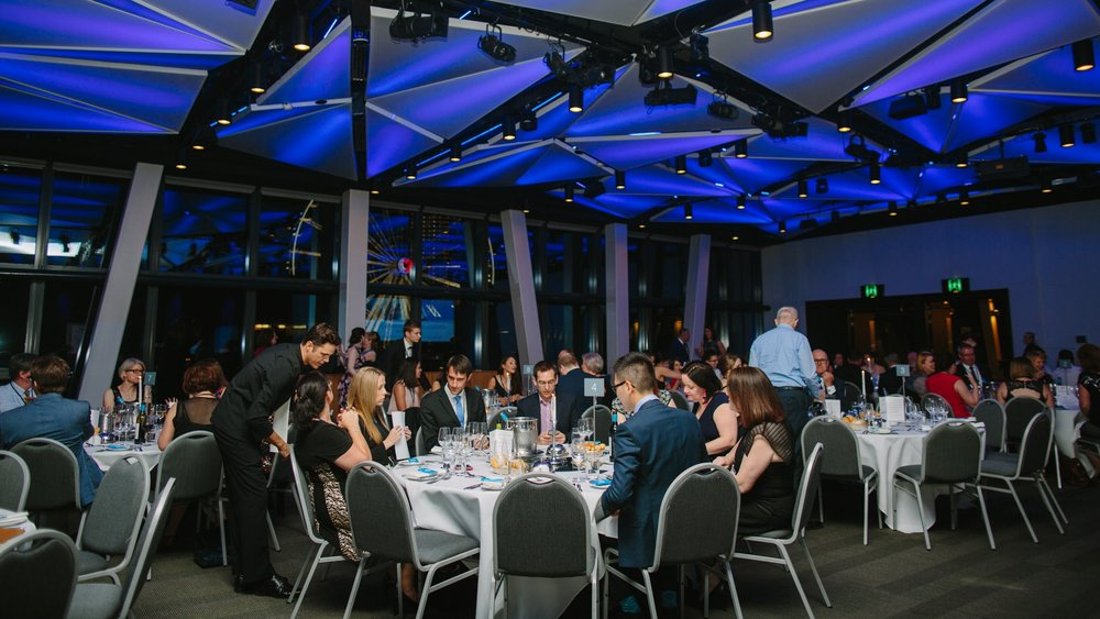 ATTENDEES CELEBRATING AT THE 2017 Workplace Excellence Awards - BRISBANE CONVENTION AND EXHIBITION CENTRE