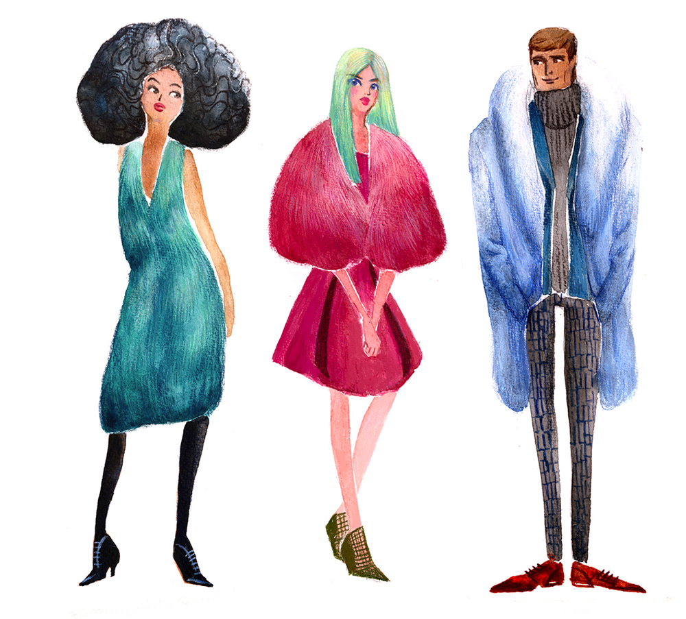 Fashion Doll, Puffy Puffy Fur