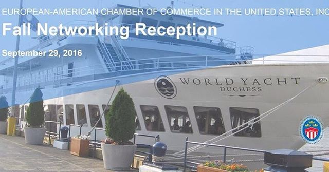 Did you know that the @world_yacht will be filled with guests from dozens of countries on September 29? Make sure you don't miss the Annual European-American Chamber of Commerce's Fall Networking Reception! 🍂🍁 http://bit.ly/2cKXxKd #European #American #Chamber #Fall #Nycevents #Networking