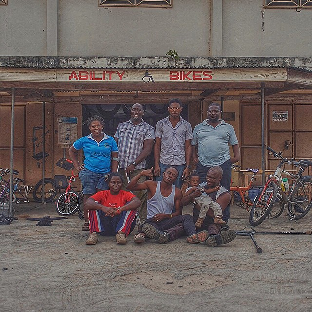 Dear friends! Meet the wonderful owners/mechanics of Ability Bikes/Ghana, who received the 500 bicycles we shipped in April. It's hard to believe it but this @goodcontainer journey is coming to a close. Thanks to you, our first shipment of bikes has been an epic success. So much so, there will be another container very soon! AND, we're working on a documentary all about it and will keep you posted with updates here. So thank you, again, from the bottom of our hearts for your kindness, compassion and generosity. You've made a difference in so many peoples' lives. It's mind-blowing. Keep up the good work!