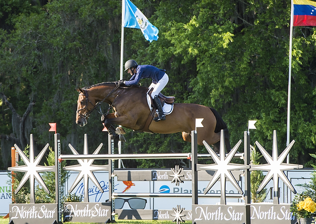 Molly Ashe and Cat Balou at Live Oak International