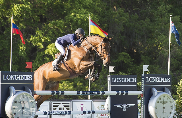 USA's Molly Ashe and Cat Balou at Live Oak International