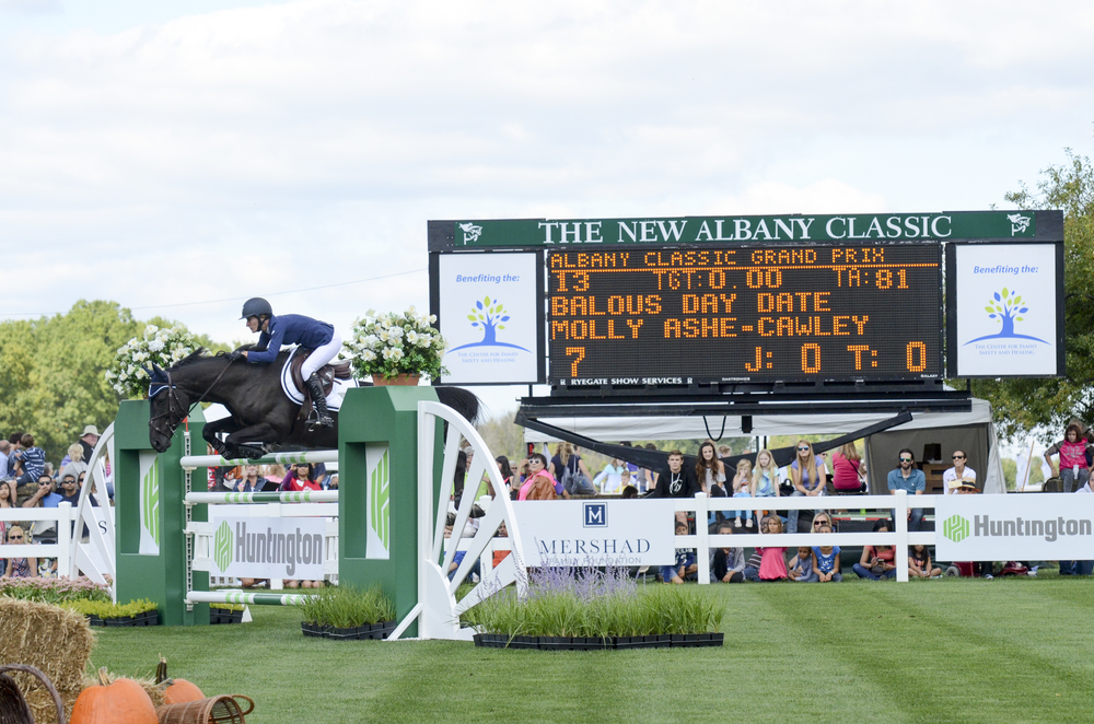 Molly Ashe and Balous Day Date at the New Albany Classic